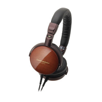 Audio Technica ATH-ESW990H Earsuit Portable Wooden On-Ear Headphones, Audio Technica - HeadfiAudio
