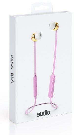 Sudio SU-8054 Blå Bluetooth Pink Earphone, Sudio - HeadfiAudio