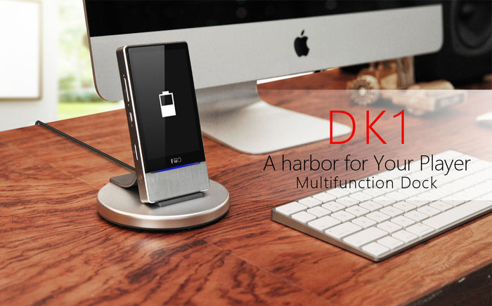Fiio DK1 Multifunction Dock, Fiio - HeadfiAudio