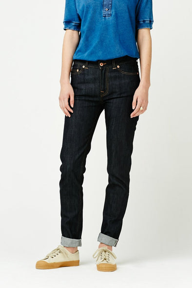 db25e7fb Pearl Skinny 10.7oz Comfort Selvedge Denim | The Cooper Collection ...