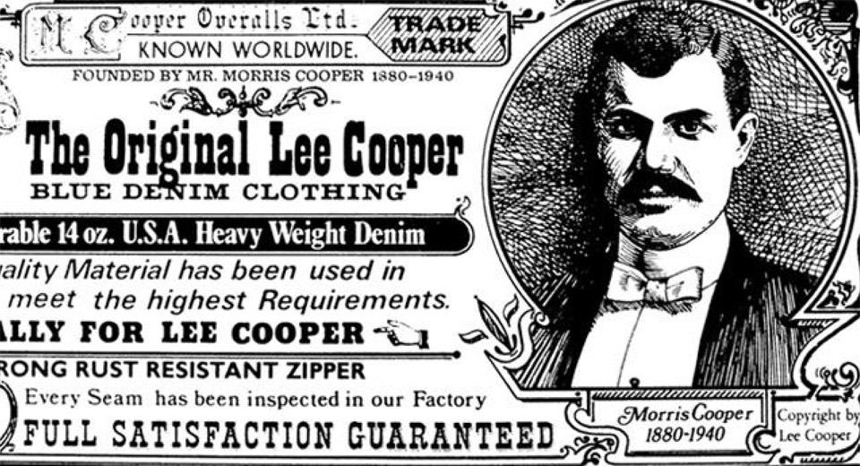 6a12c8bc HISTORY – The Cooper Collection by Lee Cooper