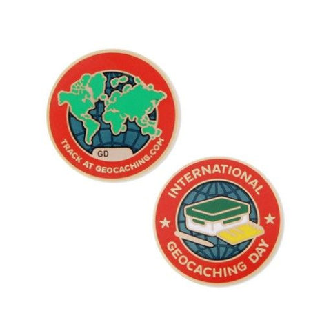 2016 International GC Day- Geocoin for geocaching