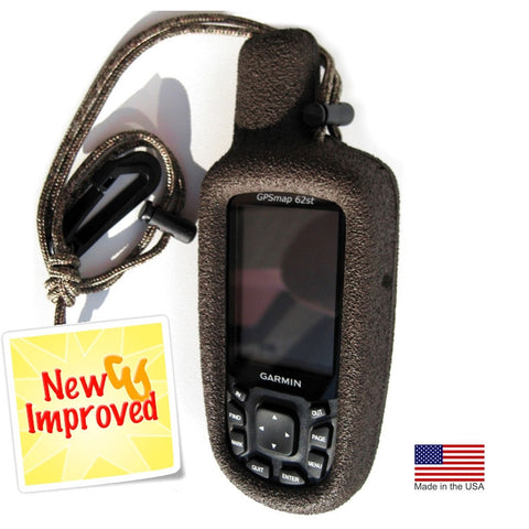 Heavy Duty Case for Garmin 62 Series (Brown)
