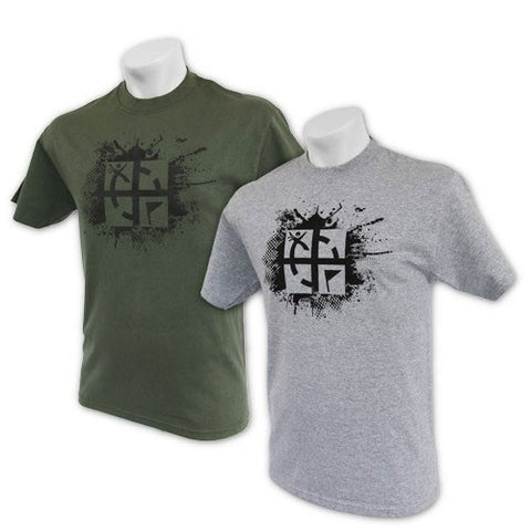 Cache Attack Tee for geocaching