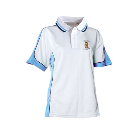 Mega Event Polo Shirt (Ladies White)
