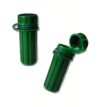 Matchstick box cache container (Forest Green)