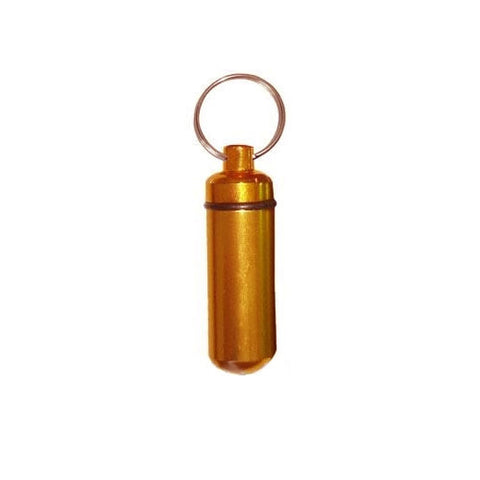 Bison tube capsule (Bronze) for geocaching