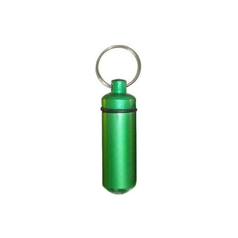 Bison tube capsule (Green) for geocaching