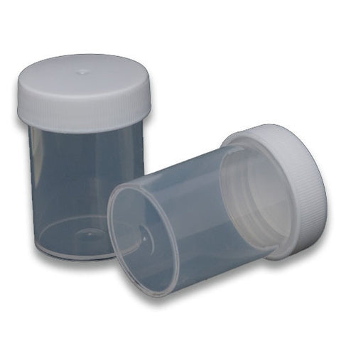 Clear plastic container (2 pack 60mL)