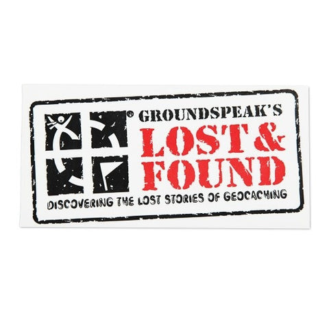 Lost & Found Sticker