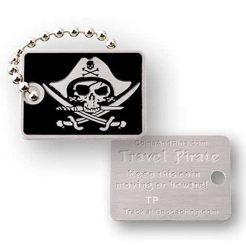 Travel Pirate Tag
