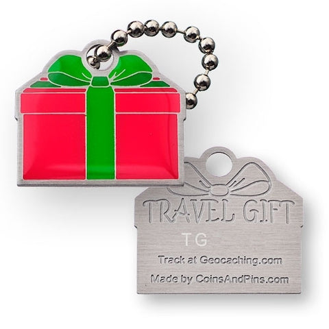 Travel Gift Tag (Red Green)