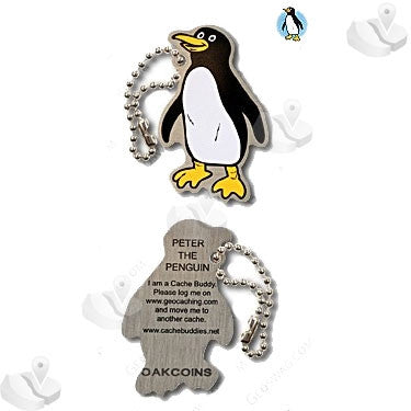 Cache Buddy - Peter the Penguin for geocaching