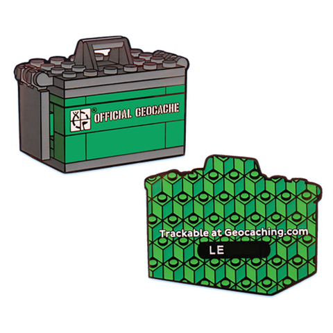 Ammo Can Brick Geocoin for geocaching