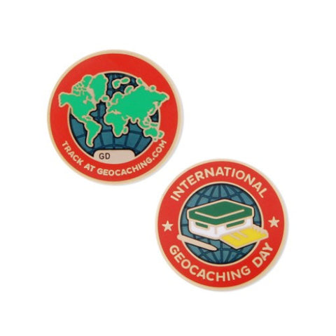2016 International Geocaching Day- Micro Geocoin for geocaching