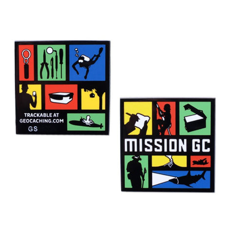 Mission GC Full Size Geocoin