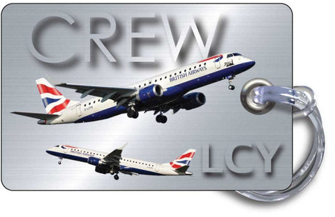 BA Cityflyer Picture-Silver Background