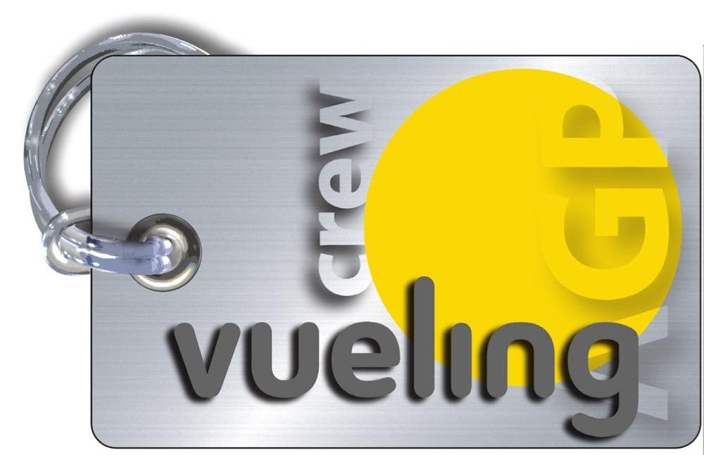 Vueling Landscape Silver-Base Tags
