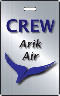 Arik Air Portrait 2 BLUE