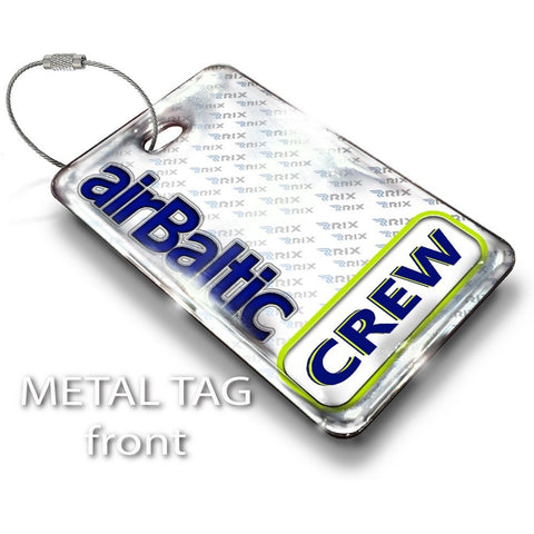 Air Baltic Logo Luggage Tag