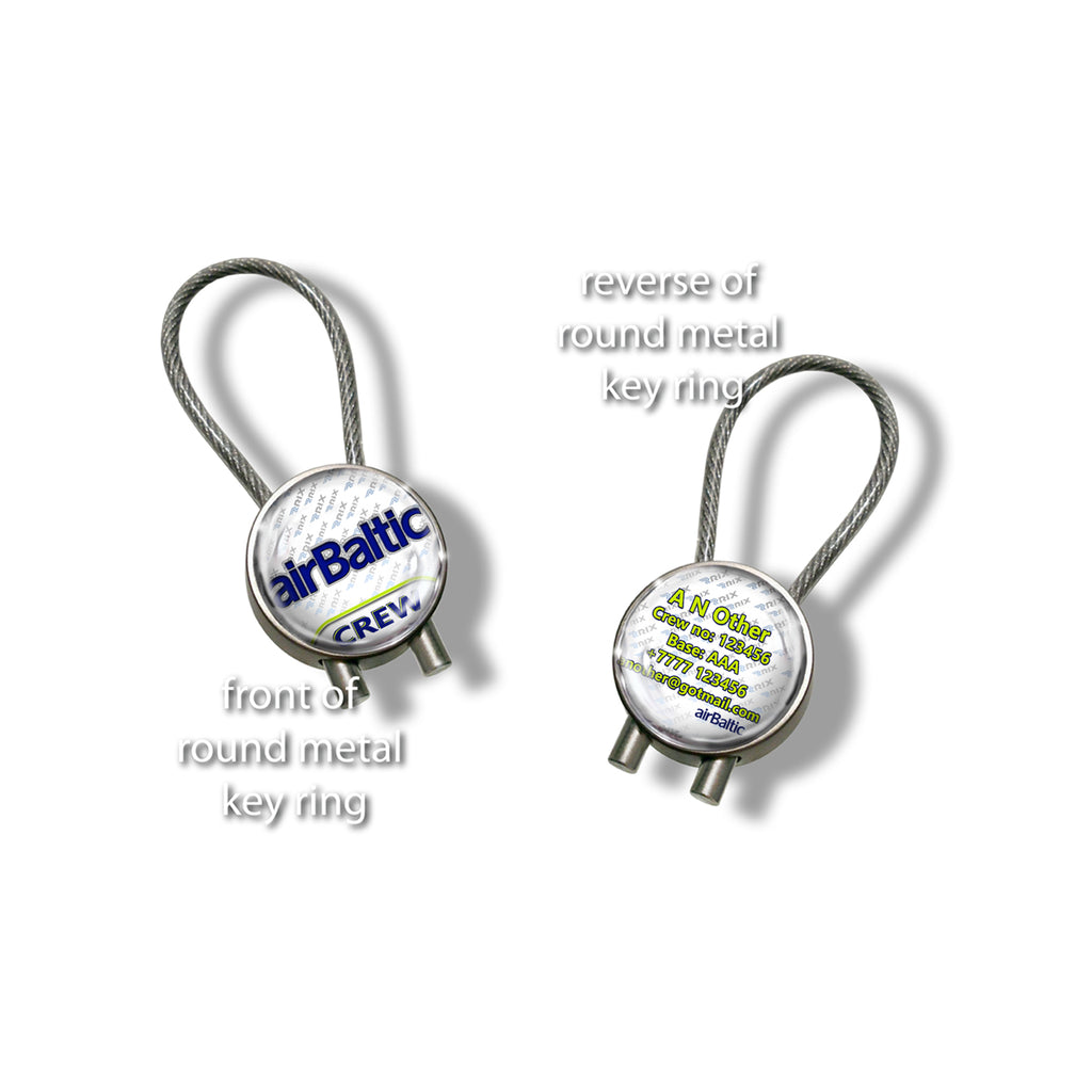 Air Baltic Logo Keyrings