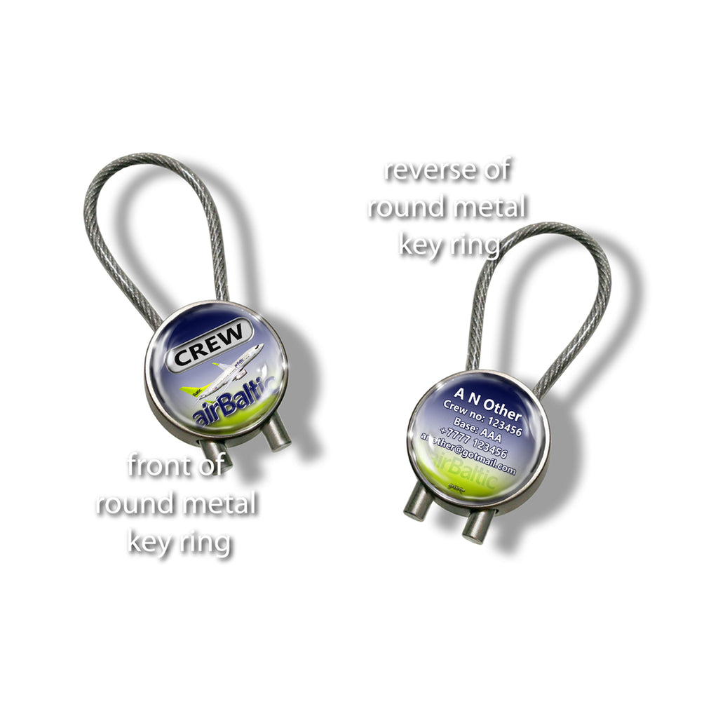 Air Baltic B737 Keyrings