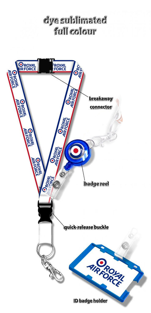 Royal Air Force Logo Lanyard