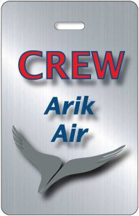 Arik Air- Portrait 'Steel Effect'