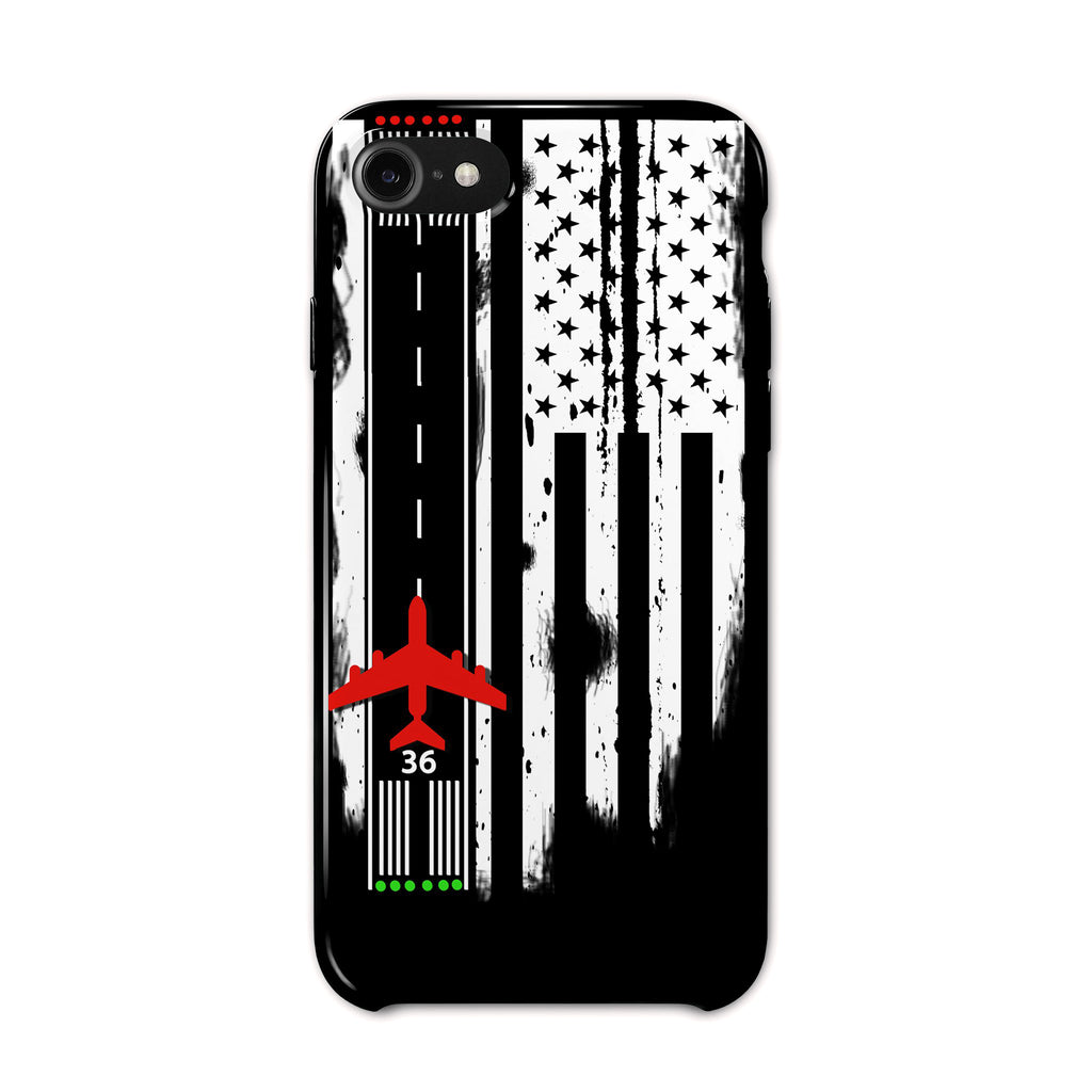 American Runway Flag iPhone 7/8 Case