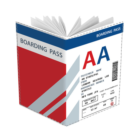 AA Boarding Pass Passport Cover