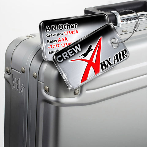ABX Air Logo Silver