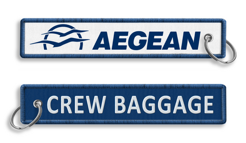 Aegean Airlines Crew Baggage KeyChain