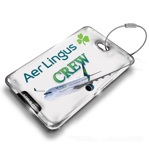 Aer Lingus A330 White Luggage Tag