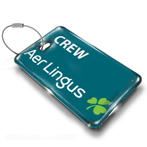 Aer Lingus Landscape Green (Official Tag)