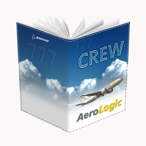 Aerologic B777 Passport Cover