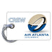 Air Atlanta Logo 3D Luggage Tag