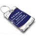 Air Atlanta Logo White Luggage Tag