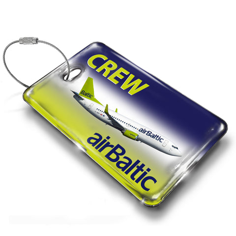 Air Baltic B737 Luggage Tag