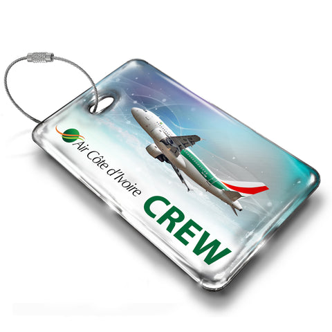Air Côte d'Ivoire A319 Abstract Luggage Tag