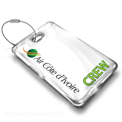 Air Côte d'Ivoire Logo Luggage Tag