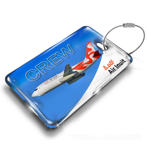 Air Inuit B737-200 Luggage Tag
