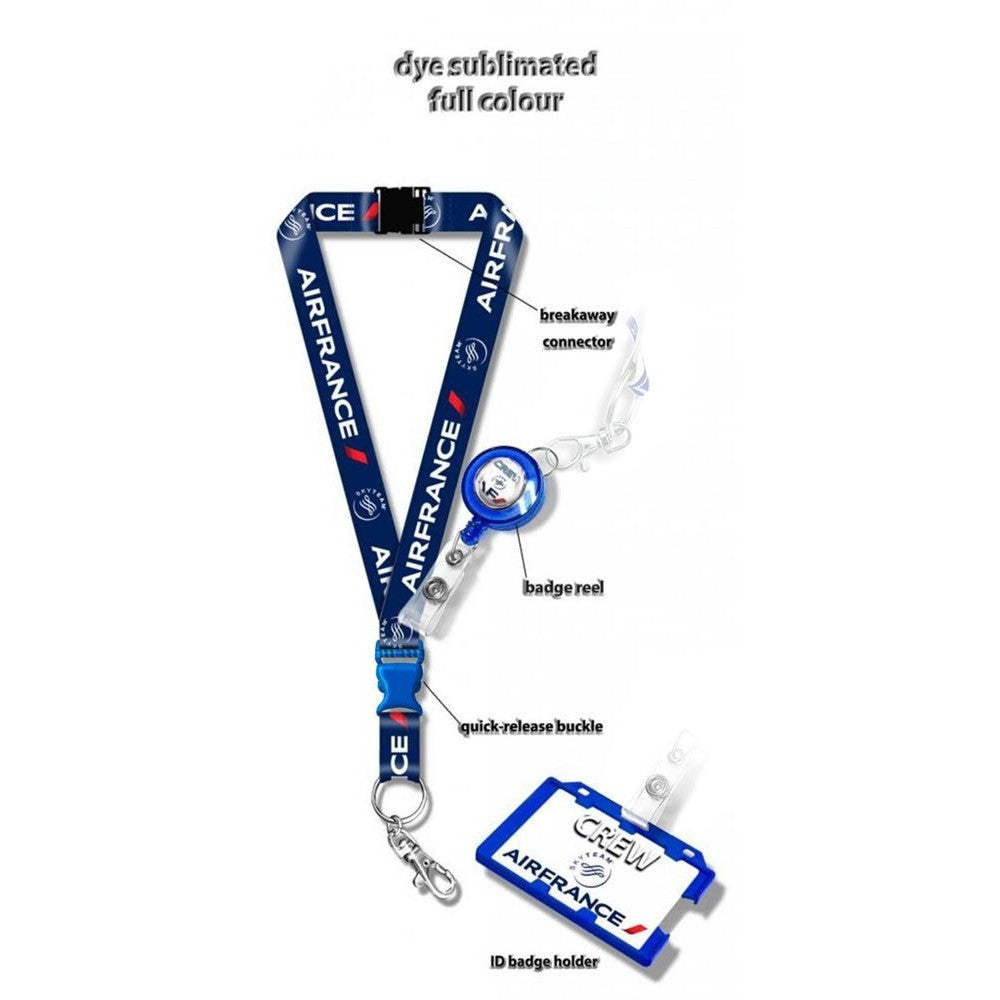 Air France Logo BLUE Lanyard