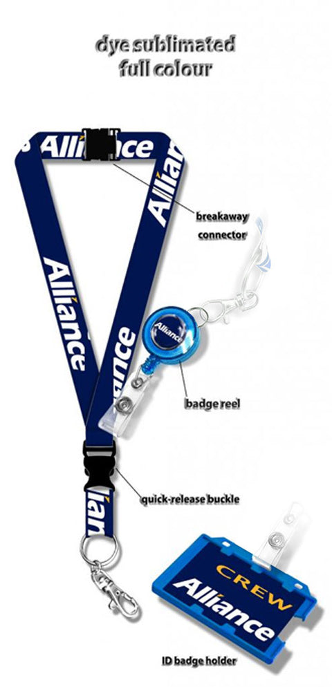 Alliance Air Logo Lanyard