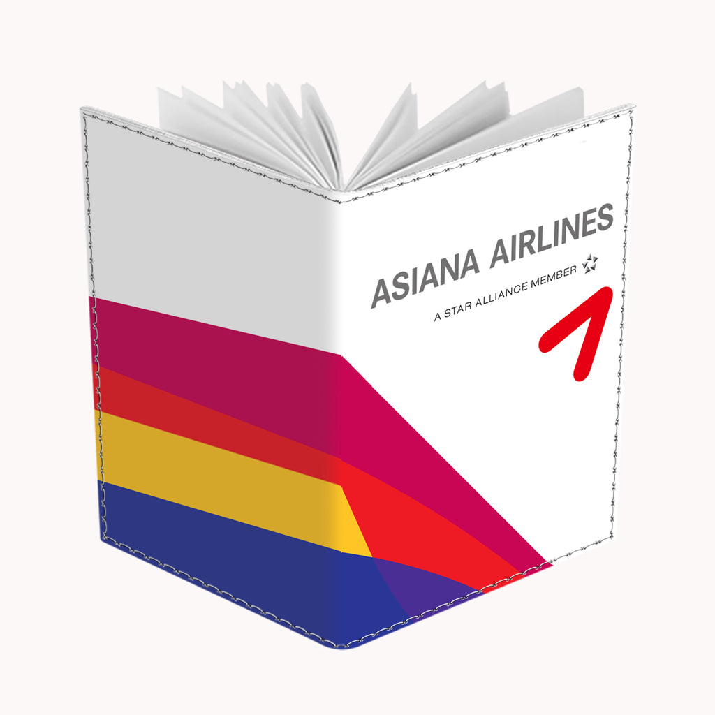 Asiana Logo 2 Landscape Passport Cover