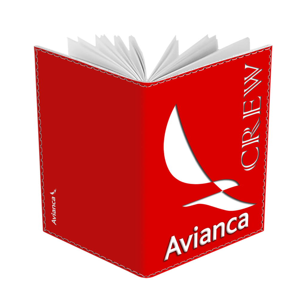 Avianca Logo Portrait RED Passport Cover