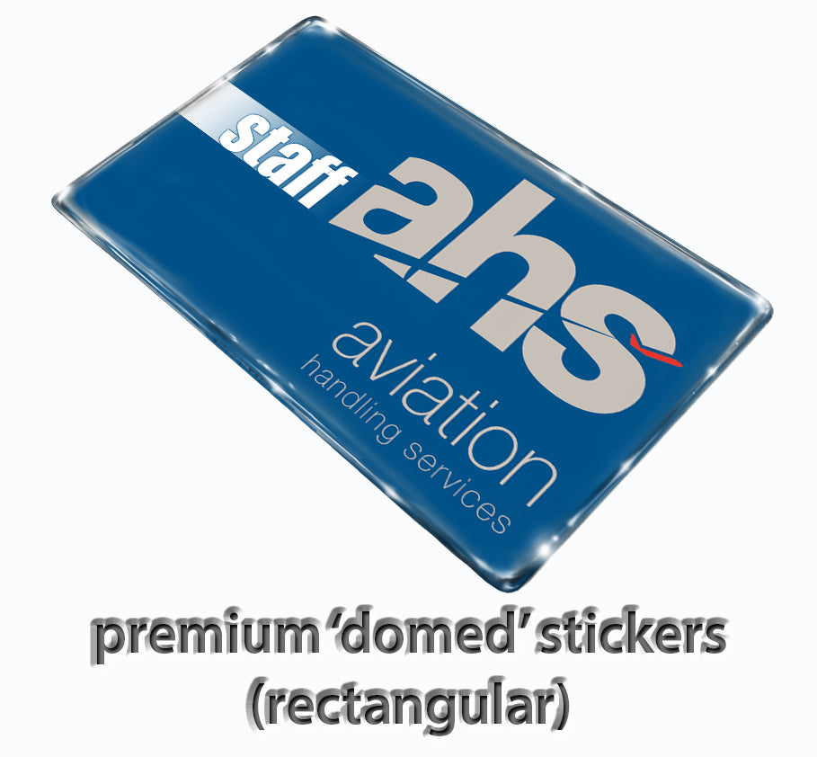 Aviation Handling Services Logo Stickers