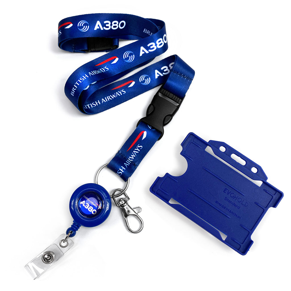 British Airways A380 Lanyard
