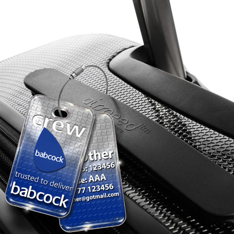 Babcock Helicopters Logo Tag