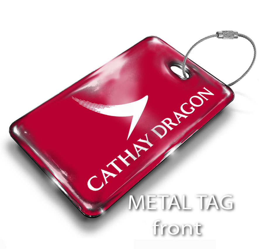 Cathay Dragon Logo RED