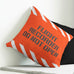 Flight Recorder Do Not Open Throw Pillow